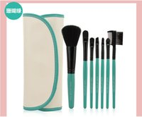 artists online - wholesales pieces Make Up Tools PU Bag Makeup Brushes makeup brushes online professional makeup artist