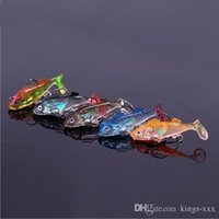 bass fishing gear - fishing lure soft lure Hard bait Bass fishing lures Swimming in the water is very realistic With double hook Fishing gear accessories baits