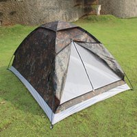 Wholesale Outdoor Sport Seaside Beach Camping Portable Person Single Layer Carpas Camouflage Waterproof Tents cm