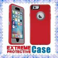 anti abs - iphone s cases Hard TPU Rubber Silicone Cases Tough Armor Deffender Case Shockproof Anti Scratch For Iphone S s plus