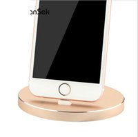 Wholesale For iPad Charger Dock Aluminum Charger Dock Desktop USB Adapter Charging Cradle Phone Station For Apple iPhone S S Plus iPod