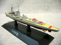 atlas lighting - Atlas Germany in World War II Leipzig class light cruiser model Mini warship model Rare collection model Only one