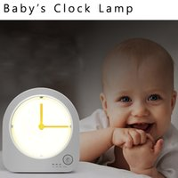 Wholesale mommy babay s clock lamp nightlight