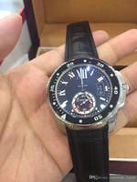 2016 nouveau style Vintage de luxe 3 broches Marque hommes en cuir montre automatique des hommes mécaniques montre cadran noir mens voiture regarder la montre-bracelet décontracté
