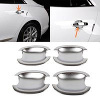 Wholesale 1SET CAR ABS Sliver Plating Outer Door Bowl Decorative Trim Cover for Chevrolet Malibu New