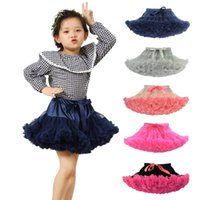 Wholesale Multicolor Girl s Solid Color Dance Tutu skirt adjustable elastic waistband ribbon bow TUTU Skirt for teen and adult