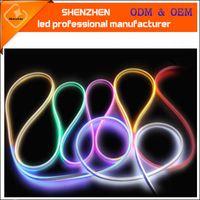 ac disco - AC V IP68 SMD LED RGB neon flex for outdoor smd2835 led neon flex led strips Neon Light Building Lighting LED Neon flex