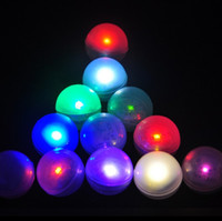 Wholesale 12 floating led flashing ball waterproof fairy pearls floating pool lights wedding party decorations festival home garden lights