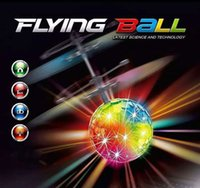 Wholesale New arrival Classic Electric Electronic Toys RC Flying Ball Helicopter magic UFO Ball with Flash Colorful and music