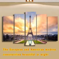 artistic adornment - Dream of the Eiffel Tower picture of modern classic landscape artistic personality fashionable sitting room adornment bedroom