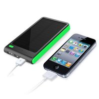 apple solar power - Latest exclusive Solar Power bank Real mah Double USB PowerBank for xiaomi smartphone ipad camera portable charger