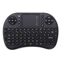 air stocking - Mini Wireless Keyboard Rii i8 GHz Air Mouse Keyboard Remote Control Touchpad For Android Box TV D Game Tablet Pc
