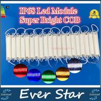 aluminum injection - New LED Modules injection COB LED module light waterproof LED back light backlight DC12V W led COB IP68 aluminum CE ROHS UL SAA