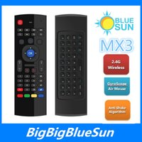 air mouse linux - Hot Mice Support GHz Wireless MX3 mini keyboard air mouse for control Android Windows MAC Linux