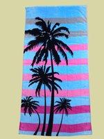 beach towel suppliers - 100 cotton velour high quality reactive color printed D vivid custom beach towel jiangxi supplier beach towel
