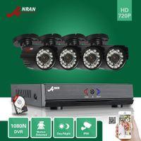 anran cctv - ANRAN Surveillance CH HDMI N AHD DVR GB HDD TVL P IR Night Waterproof Bullet Video Security Camera CCTV System