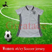 Cheap 3A top quality germany woman soccer jerseys ladies german home away kits girls football shirt tops many team women jerseys