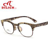 Wholesale DILICN brand design fashion women TR90 optical frame cheap price retro glasses frame Classic vintage eyeglasses frame