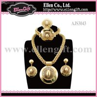 ajs jewelry - Factory Price Hot Fashion African Wedding Jewelry Set AJS