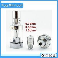 Cheap original Authentic ECT mini Fog Atomizer Coil 0.3ohm rda core fit for sub ohm tank in ET30P vape mod vs kangertech coil