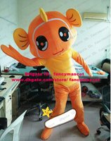 big eye goldfish - Agreeable Orange Goldfish Gold Fish Tropical Colorful Aquarium Fish Mascot Costume Cartoon Character Mascotte Big Eyes No