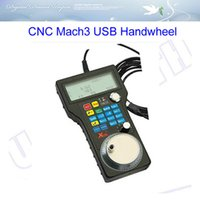 axis encoder - Free ship CNC Mach3 USB Handwheel Axis Pulse PPR Optical Encoder Generator MPG Pendan