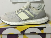 Wholesale send with box new Ultra Boost shoes LTD Cream AQ5559 Size