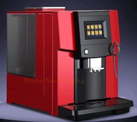 automatic coffee grinder - New One touch Commerical heat system Fully automatic LCD espresso coffee machine coffee grinder bar cappuccino latte maker