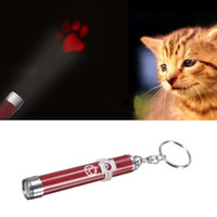 Wholesale Pet Cat Kitten Toy Laser Pointer LED Light Pen Torch Moving Footprint Chase Toy