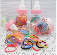 baby bottle bands - Children s hair accessories baby hairpin children hairpin wild hair accessories rubber band fitted bottle