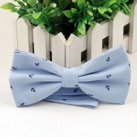 bamboo grid - Men s Bow Tie British Style Cotton Bowtie for Men Casual Gravata Borboleta of Vestidos Wedding Party Butterfly Anchor Bow Ties