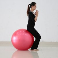 Wholesale Yoga Fitness Buttock Ball Pilates Yoga Ball Lose Weight Exercise Training Body Building cm cm cm Yoga Core Ball