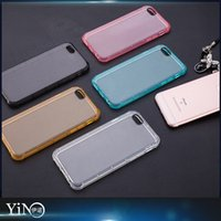 Wholesale Air Sac Shockproof Tough Armor Slim Clear Transparent Soft TPU Case Cover Skin Air Cushion for iPhone S Plus