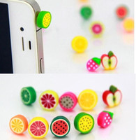 Wholesale For Sale New Cell Phone Anti Dust Gadgets Cell Phone Mixed color mm headset mouth Anti Dust Plug For iphone6 s plus samsung galaxy s6