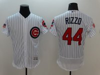 Wholesale Anthony Rizzo Chicago Cubs Independence Day Majestic Fashion Stars Stripes Flex Base Player Baseball Jerseys Free Drop Ship