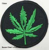 Wholesale Plum Leaf Iron on embroidery patch embroidery patches logo embroidery patches embroidery patches for clothing custom embroidery patches