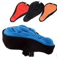 air saddle pad - Bicycle Parts Bicycle Saddle D Bicycle Saddle Seat Cover Mountain Bike Cycling Seat Saddle Cover Cushion Soft Pad High Air Permeability