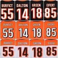 Wholesale Men s Cincinnati Bengals A J Green Andy Dalton Tyler Eifert vontaze burfict elite jerseys