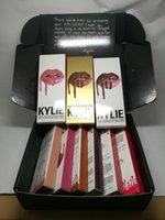 boxed greeting cards - kylie jenner lipstick matte colors mixed with black box and greeting card cosmetics sets set lipstick lipliner