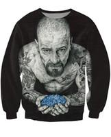 bad tattoo - Women Men d Inked Heisenberg Crewneck Sweatshirt tattooed Breaking Bad Walter White Fashion Clothing Sport Tops Jumper Outfits