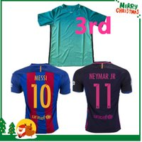 barcelona club soccer - Barcelona MESSI jersey A INIESTA SUAREZ SERGIO PIQUE I RAKITIC NEYMAR JR Shirt Club World Cup