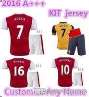 arsenal polo shirts - TopThai jerseys with shorts Arsenal kits Soccer Jerseys football shirts ALEXIS WILSHERE GIROUD CHAMBERS OZIL ET