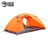 aluminum awning - Outdoor Lightweight people tent double layer fishing pergola awning Waterproof Hiking Travel tenda Portable camping equipment
