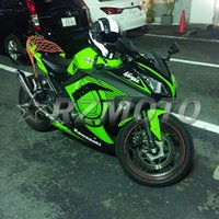 Wholesale New Fit Guarantee motorcycle Fairing Kits Fits Ninja R EX300 For Kawasaki Cool green nice