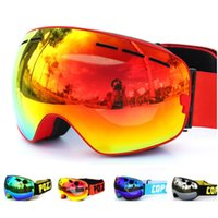 Wholesale Skii goggles double UV400 anti fog big ski mask glasses skiing men women snow snowboard goggles