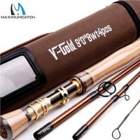 aluminum fishing rod tubes - Maximumcatch New Fly Fishing Rod SK Carbon Fiber FT WT Fast Action With Aluminum Tube Fly Rod