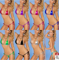 Wholesale Explosion models in Europe and America sexy lingerie bikini three suits