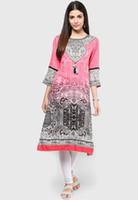Wholesale NEW fashion Women Kurti Top Apparel Dress Ethnic Kurta Suit Salwar India Pakistan Gown Tunic