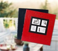 album insert - PHOTOS ALBUM INCHES INCHES INSERT TYPE FAMILY CHIRLDREN PICTURE RECORD GROWTH CROCODILE GRAIN LEATHER WINE RED