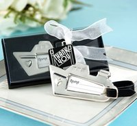 angels giveaway - wedding favor gift and giveaways for guest bridal shower Destination Love Cruise Ship Luggage Tag party souvenir